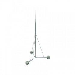 Sada - stojan so zachytávacou tyčou, 7000mm, bez podstavcov, 8,5 m