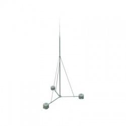 Sada - stojan so zachytávacou tyčou, 8500mm, bez podstavcov, 8,5 m
