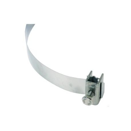 Svorka a napínací pásik 25mm nerez V2A, dĺžka 1100mm