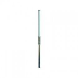 1-dielna podporná trubka D 50, 6200mm, M10, plast GFK/Al