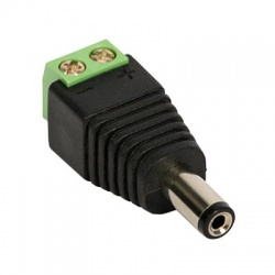 5,5/2,1mm, DC napájací konektor, zásuvka