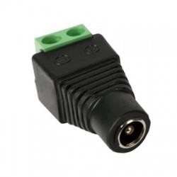 5,5/2,1mm, DC napájací konektor, vidlica