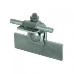 Pripoj. svorka Rd 6-10 s kontaktnou plochou 10cm2 pre vodič/plech o hrúbke 0,7-8mm