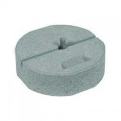 Betónový podstavec D 337mm/17kg s klinom Rd16
