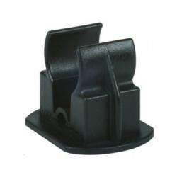 Adaptér k upevneniu vedenia HVI Rd20 v podpere FB, čierny, plast