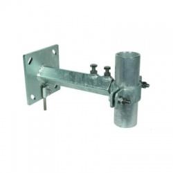 Objímka k upevneniu trubky 60mm, montáž na stenu pomocou konzoly 250-350mm