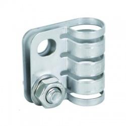 HVI light - uzemňovacia svorka Rd17mm, priemer otvoru 11mm
