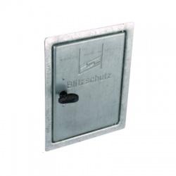 Revízne dvierka 205x155mm so štvorhranným kľúčom FeZn