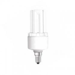 8W/840 E14, studená biela, kompaktná žiarivka