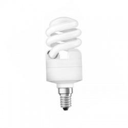 12W/840 E14, studená biela, kompaktná žiarivka