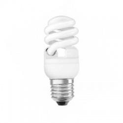 12W/827 E27, teplá biela, kompaktná žiarivka