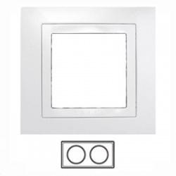 2-rámik, biela, MGU2.004.18