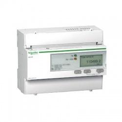 iEM3210 nepriamy, 3-fázový, 63A, pulzný, MID, elektromer