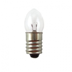 3,6V 2,9W 800mA E10, kryptónová žiarovka