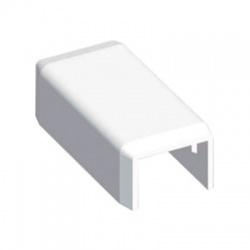 8731 HB 18x13 kryt koncový, biely