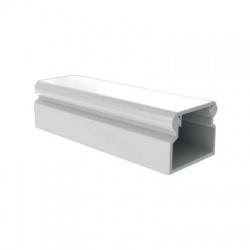 LV 18x13 P2 lišta so samolepiacou páskou, 2m, biela