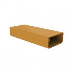 LHD 40x20 SD lišta, 2m, svetlé drevo