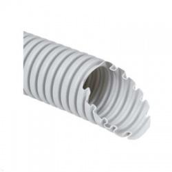1432 K25D rúrka 32 ohybná MONOFLEX s drôtom, svetlo sivá
