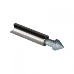 Zatĺkací hrot,liatina/Zn, 25mm