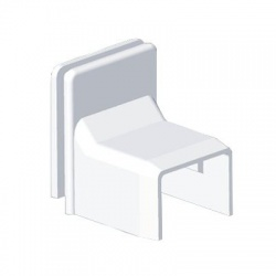 8739 HB 18x13 kryt priechodkový , biely