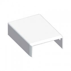 8711 HB 40x15 kryt koncový, biely