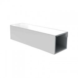 LZ 15x12 HD lišta, 2m, biela