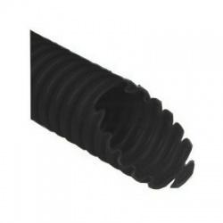 2325/LPE-2 F100D rúrka 25 ohybná s drôtom, čierna