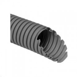 1232 L25D rúrka 32 ohybná SUPER MONOFLEX s drôtom, tmavo sivá