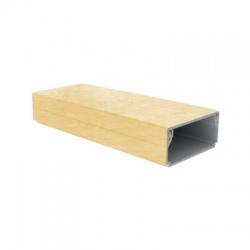 LHD 40x20 I1 lišta, 2m, breza ružová