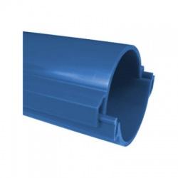 06110/2 CAD chránička 110 tuhá KOPOHALF , zaklapnuté do seba, bezhalogénová, modrá