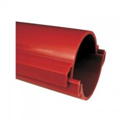 06160/2 BA chránička 160 tuhá KOPOHALF , v rozloženom stave, bezhalogénová, červená