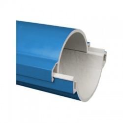 06110P/2 CAD chránička 110 tuhá KOPOHALF , zaklapbuté do seba, modrá