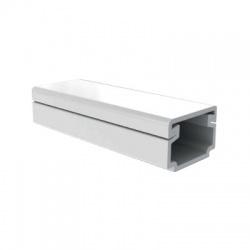 LH 15x10 HC lišta, biela, 2m