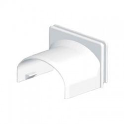 8757 HB 40 kryt priechodkový, biely
