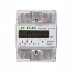 EDIN 341L, 5-80A, 3-fázový, digitálny elektromer