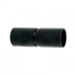 340/2 ECZ spojka 40 oceľová násuvná, lakovaná, čierna