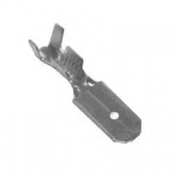 6,3x0,8mm, konektor plochý neizolovaný