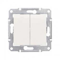 SDN0600123 vypínač č. 5B, krémový