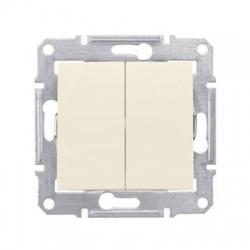 SDN0600147 vypínač č. 5B, béžová