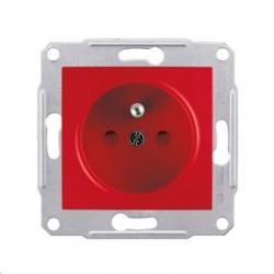 SDN2800441 zásuvka, červená