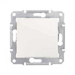 SDN0700123 vypínač č. 1/0, krémový