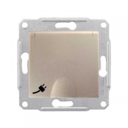 SDN2800368 zásuvka IP44, titán