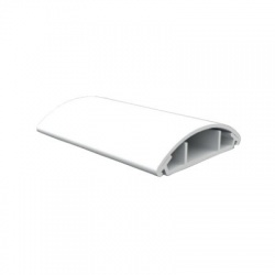 LO 50 HD lišta oblá, 2m, biela