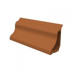 LP 35 TD lišta podlahová, 2m, tmavé drevo, samolepiaca páska