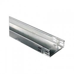 KZIN 60x500x1,25 S káblový žľab s integrovanou spojkou, nedierovaný