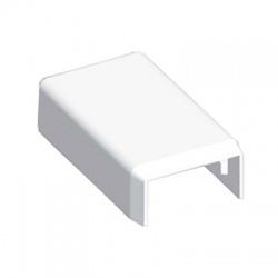 8921HF HB 20x10 kryt koncový bezhalogénový, biely