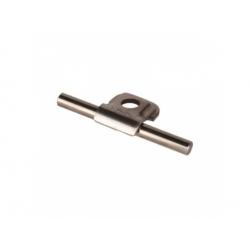 Príchytka vedenia quickRd 6-10 nerez V2A, otvor 6,5mm
