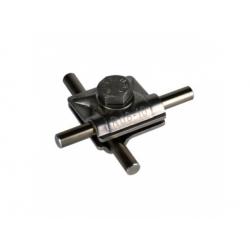 Univerzálna svorka MV kruhový vodič 2xRd 8-10mm, nerez V2A