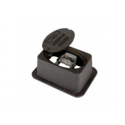Skrinka 239x159x120mm +svorka kruh 7-10/ pásik 30-40, liatina