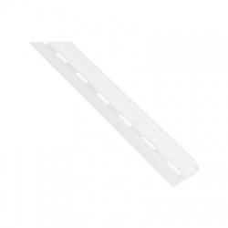 5822 DER HA lišta nosná plastová, 3m, biela